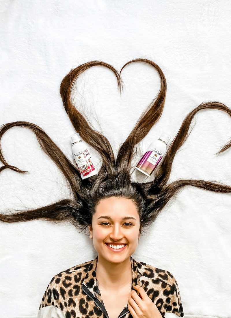 More Time Between Washes with Pantene!