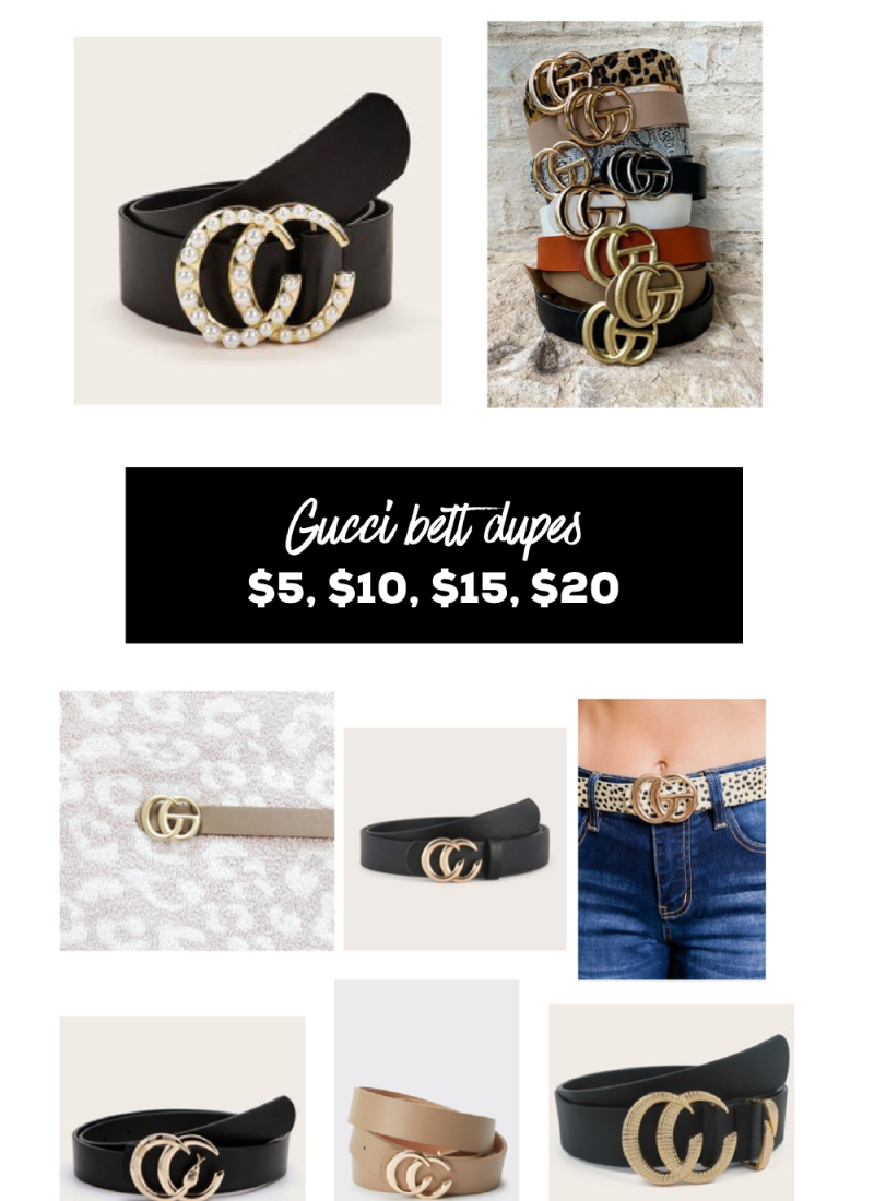 Gucci Belt Dupe Under $20
