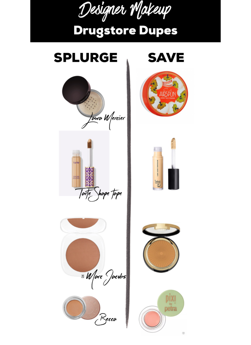 Designer Makeup Drugstore Dupes